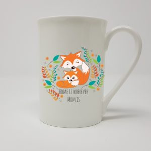 Fox Lover Mum China Mug.