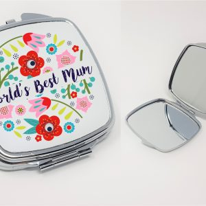 worlds best mum mirror by Beautifully Obscene