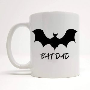 bat dad coffee mug by Beautifully Obscene