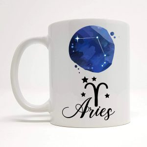 aries coffee mug by Beautifully Obscene