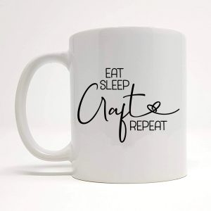 eat sleep craft repeat by Beautifully Obscene