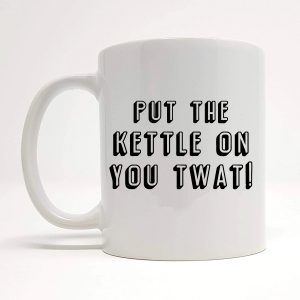 put the kettle on mug by Beautifully Obscene