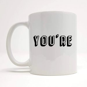 bad grammar mug by Beautifully Obscene