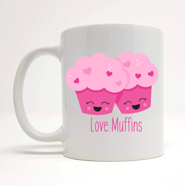 love muffins mug by Beautifully Obscene
