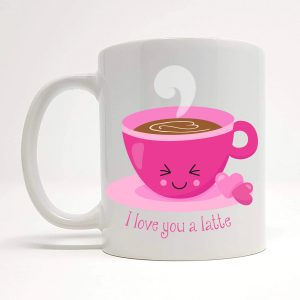 latte mug by Beautifully Obscene