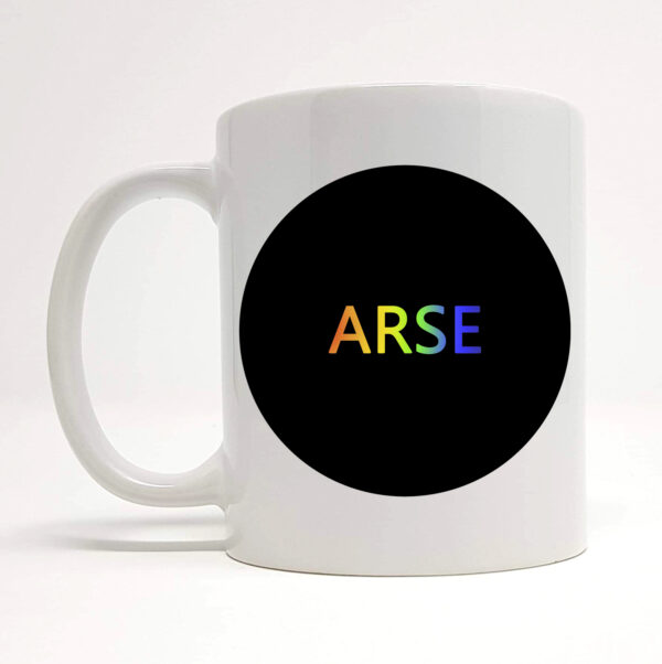 arse mug by Beautifully Obscene