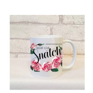 i have a squeaky clean snatch mugs by Beautifully Obscene