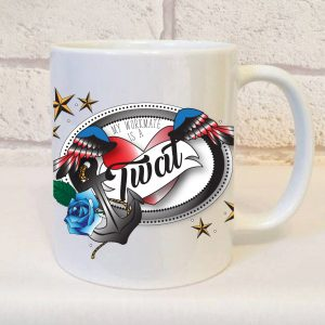 my workmate is a twat mug By Beautifully Obscene