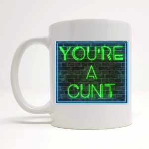 cunt mug gift by Beautifully Obscene