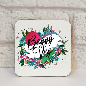 baggy vag coaster by Beautifully Obscene