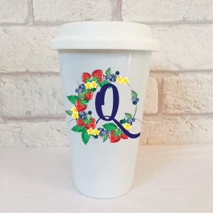 initial q gift idea by Beautifully Obscene