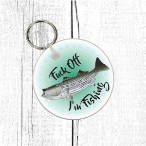 fisherman novelty keyring By Beautifully Obscene