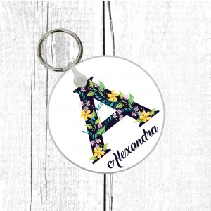 personalised keyring by Beautifully Obscene