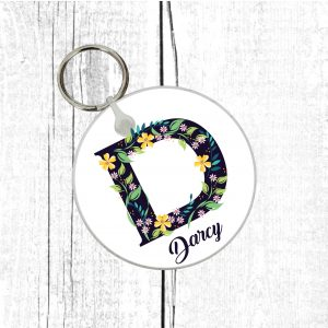 initial keyring by Beautifully Obscene