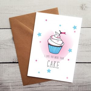 cupcake occasion card by Beautifully Obscene