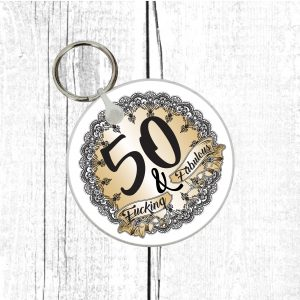 funny 50th gift by Beautifully Obscene