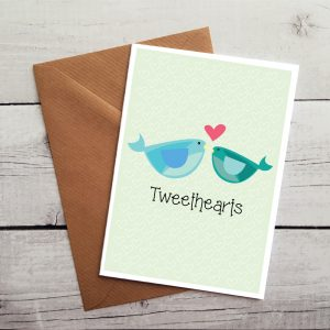 engagement card by Beautifully Obscene