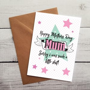 funny happy mothers day card by Beautifully Obscene