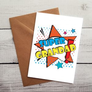 super grandad occasion card by Beautifully Obscene