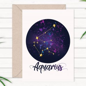 aquarius-birthday-card