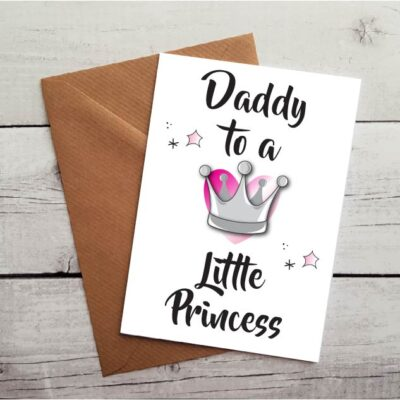 daddy card from daughter by Beautifully Obscene