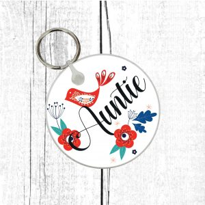 auntie keyring by Beautifully Obscene