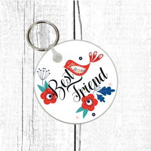 best friend keyring by Beautifully Obscene