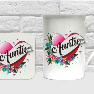 auntie bone china gift set by Beautifully Obscene