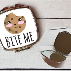 cookie pocket mirror by Beautifully Obscene