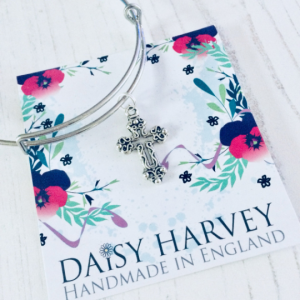 christian charm bracelet by Daisy Harvey Designs