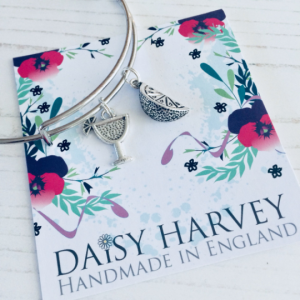 gin charm bracelet by Daisy Harvey Designs