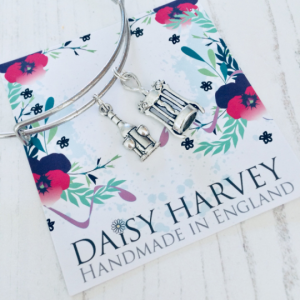 wine lover charm bracelet by Daisy Harvey Designs
