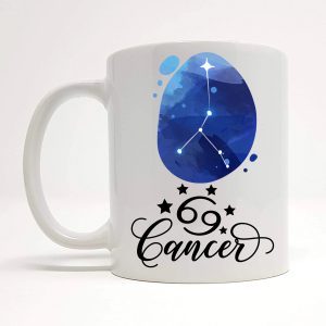 cancer coffee mug by Beautifully Obscene