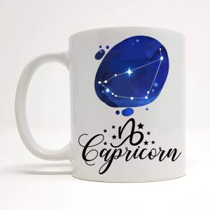capricorn coffee mug by Beautifully Obscene