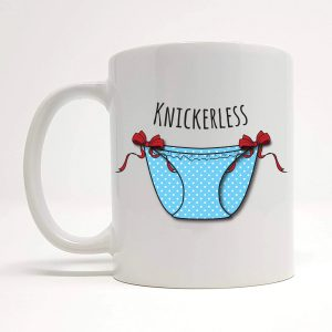 knickerless mug by Beautifully Obscene