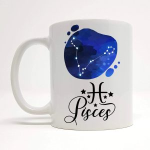 pisces coffee mug by Beautifully Obscene