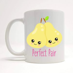 perfect pear mug by Beautifully Obscene