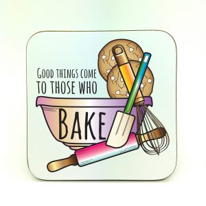baking lover coaster