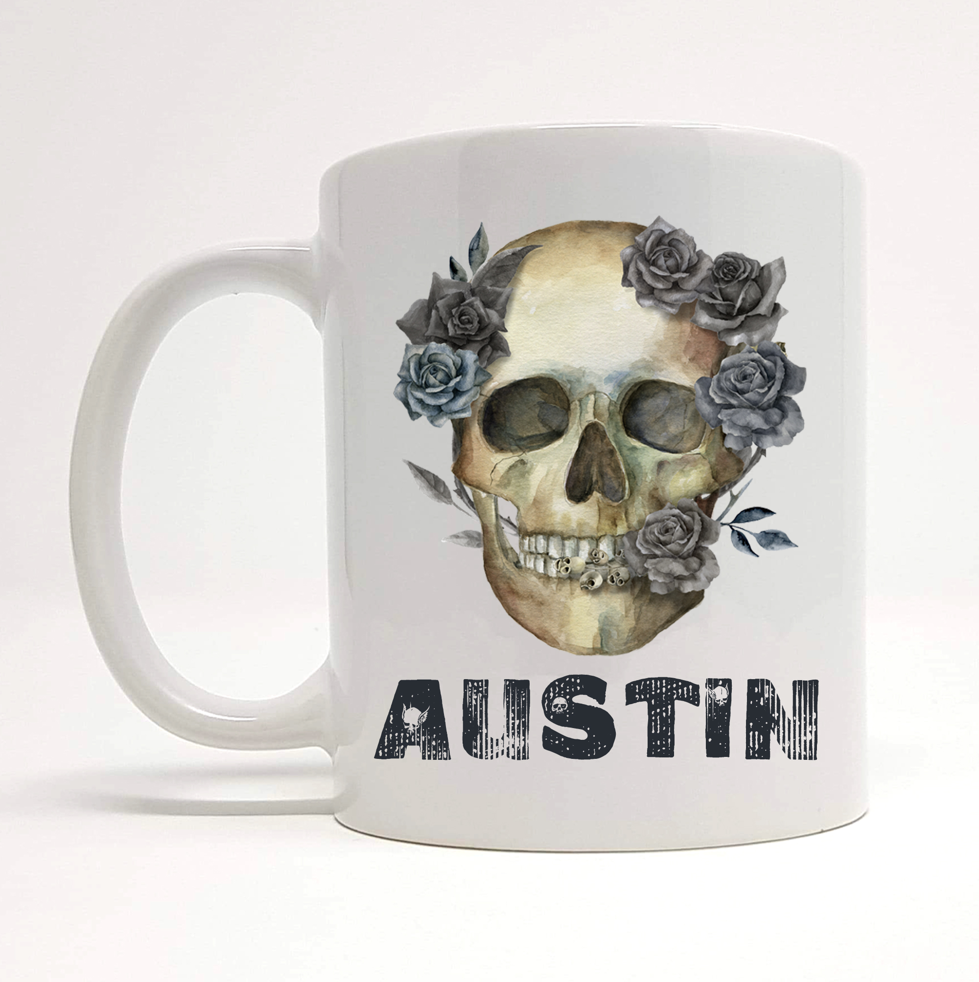 personalised-skull-coffee-mug